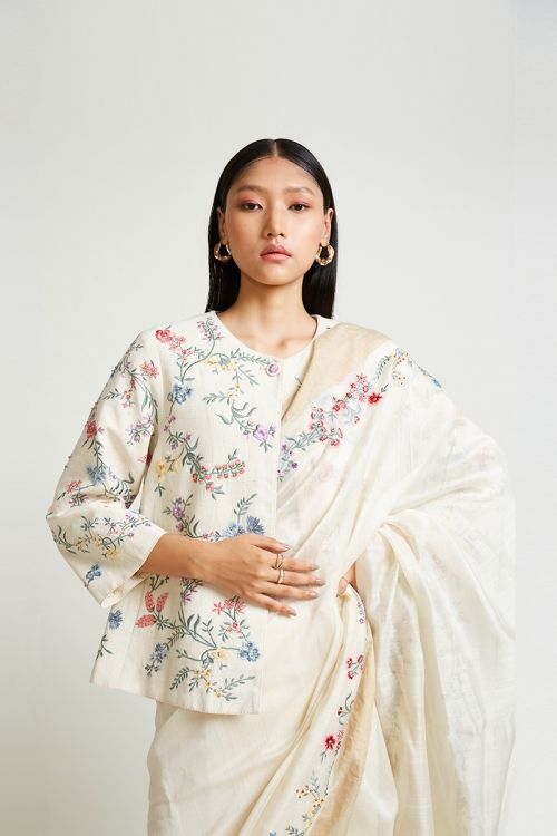 Quince Embroidered Jacket