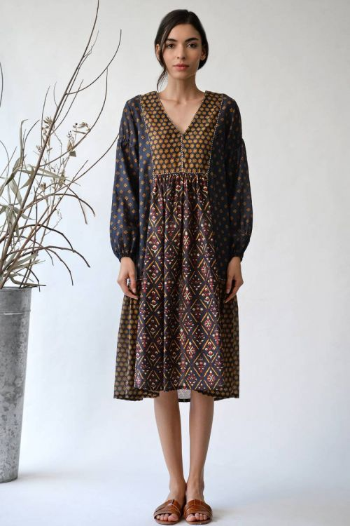 Youssofia Patchwork Dress