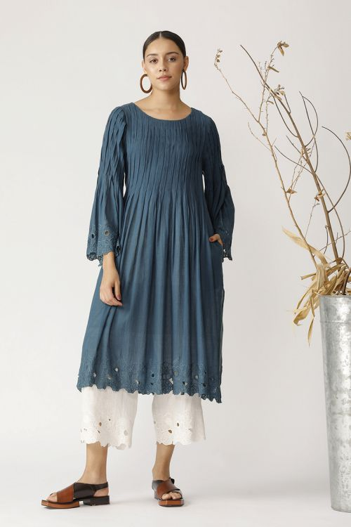 Hornbeam pleated tunic