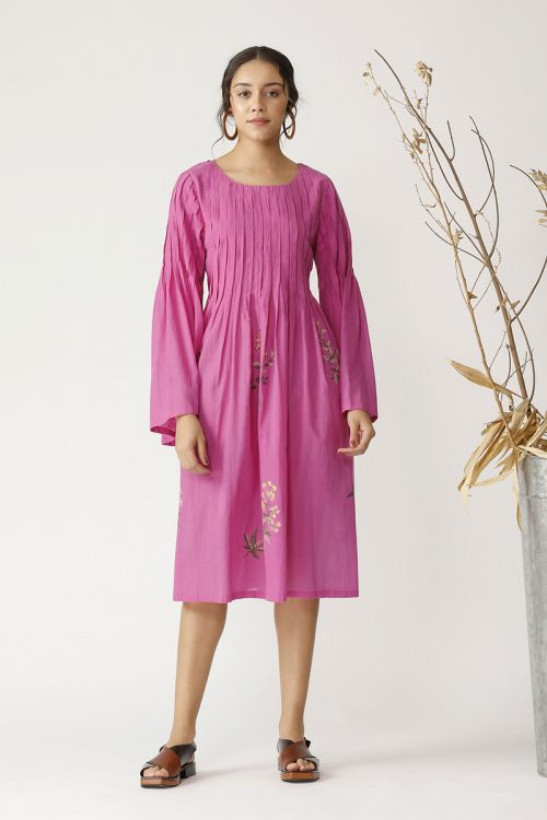 Aronia embroidered tunic