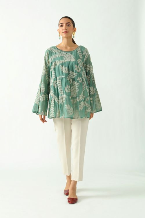 Patricia Embroidered Top