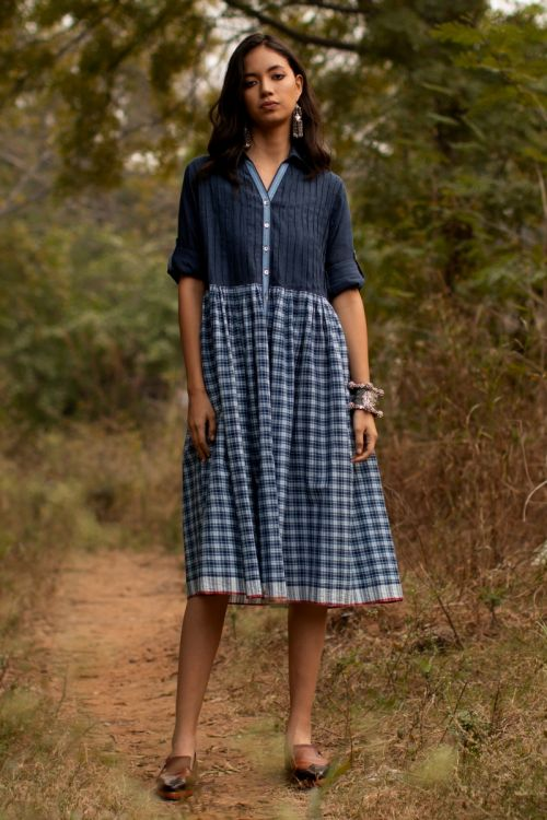 Clapton collared dress