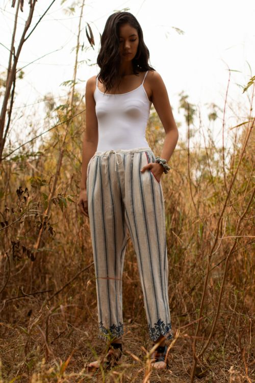 Ted scallop pants