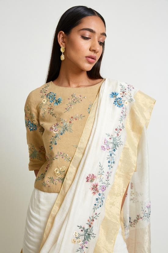 Andromeda Embroidered Blouse