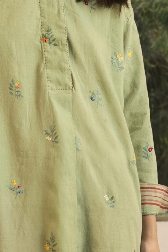 Horace embroidered tunic