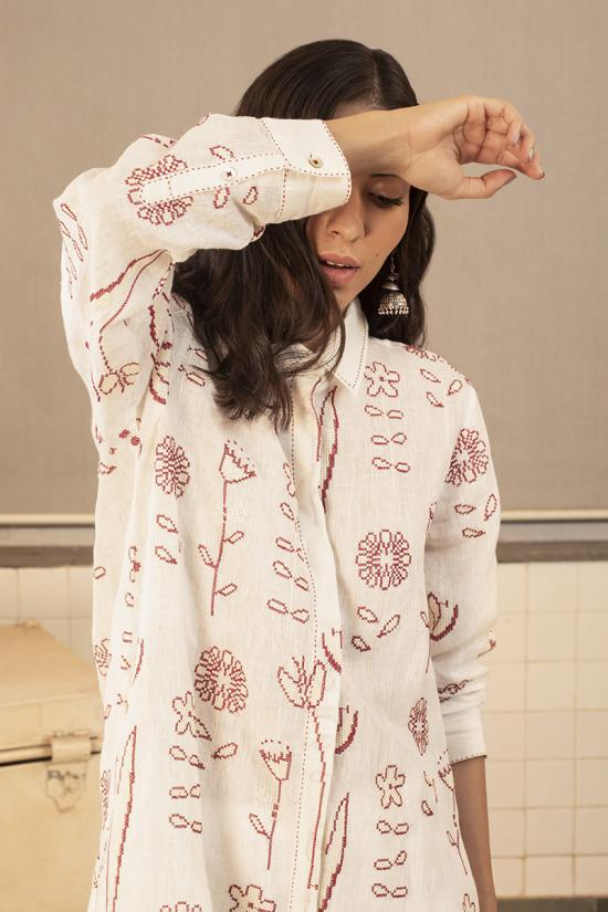 Ella Embroidered Tunic