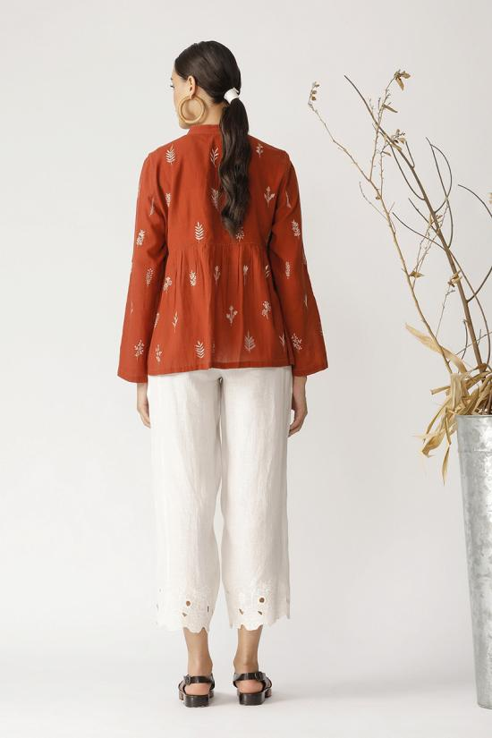 Orchestra embroidery jacket