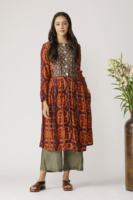 SETTAT PRINTED DRESS