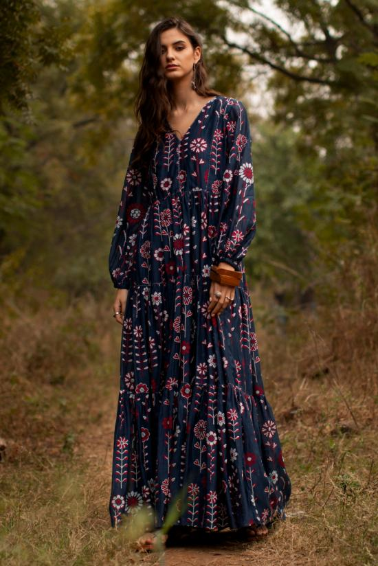 Casey tiered Maxi